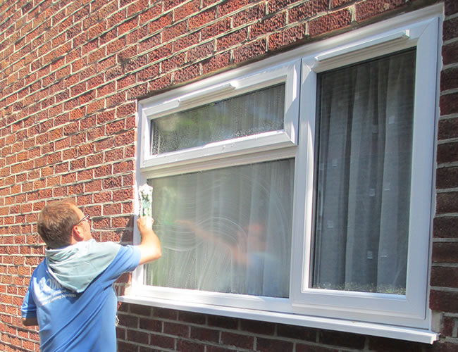 Window Cleaning By Hand